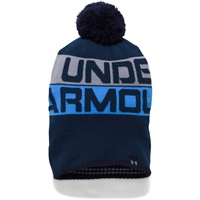 Under Armour Mens Retro Pom Beanie 2.0 - Navy