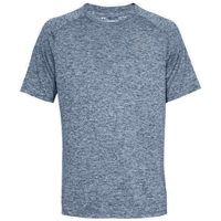 Under Armour Mens Tech 2.0 T-Shirt - Melange Navy