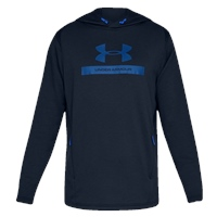 Under Armour Mens MK1 Terry Graphic Hoodie - Navy