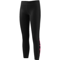 Adidas Girls Linear Tights - Black/Magenta