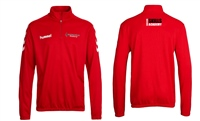 Soccer Skills Academy  Core Half Zip Top - Adults - Red