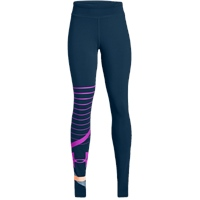 Under Armour Girls Finale Knit Leggings - Blue/Pink