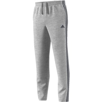 Adidas Mens Essential 3S Track Pants - Grey/Navy