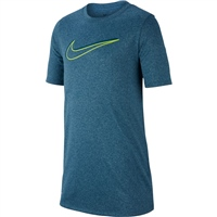 Nike Boys Dry Legend 3D T-shirt - Blue/Volt