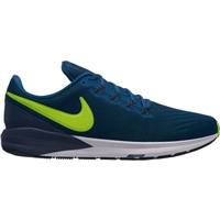 Nike Mens Air Zoom Structure 22 - Navy/Volt