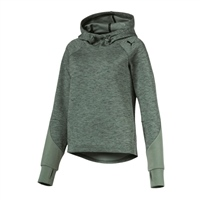 Puma Womens Evostripe OH Hoody - Laurel Wreath Green