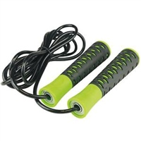 UFE Urban Fitness High Grip Spped Rope - 2.8m - Black/Green