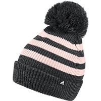 cb85c706d31 Adidas FAT Striped Beanie - Grey Pink