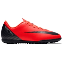 Nike CR7 VaporX 12 Club Jr (TF) - Kids - Crimson/Black