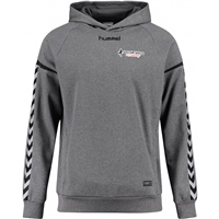 Soccer Skills Academy  Authentic Charge Poly Hoodie - Dark Grey Melange