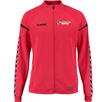 Soccer Skills Academy  Authentic Charge Poly Zip Jacket - True Red
