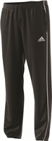 Ballisodare United F.C Core18 Poly Pant - Youth - Black/White