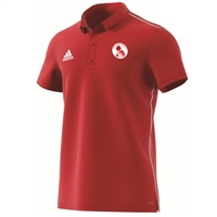 Ballisodare United F.C Core18 Polo - Youth - Power Red/White