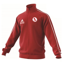Ballisodare United F.C Core18 Poly Jacket - Youth - Power Red/White