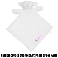 Mumbles Personalised Lamb Snuggy - Cream