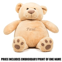 Mumbles Personalised Bear - Brown