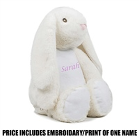 Mumbles Personalised Bunny - Cream