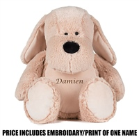 Mumbles Personalised Dog - Brown