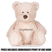 Mumbles Personalised Teddy - Brown