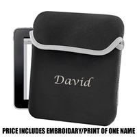 Bag Base Personalised iPad/ Tablet Sleeve - Black