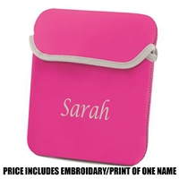 Bag Base Personalised iPad/ Tablet Sleeve - Pink