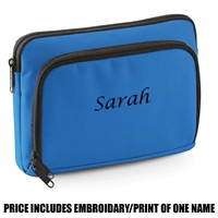 Bag Base Personalised Mini iPad/tablet Shuttle - Blue