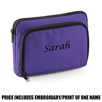 Bag Base Personalised Mini iPad/tablet Shuttle - Purple