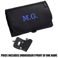 Bag Base Personalised Wash Bag - Black