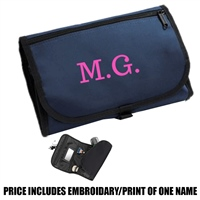 Bag Base Personalised Wash Bag - Navy