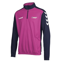 Soccer Skills Academy  Core Half Zip Sweat - Pink/Navy
