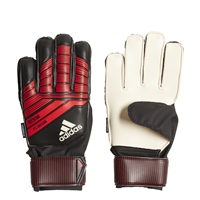 Adidas Predator Fingersave Junior Gloves - Black/Red/White
