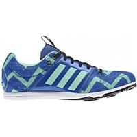 Adidas Kids Allroundstar Running Spikes - Blue/Green