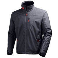 Helly Hansen Mens Crew Midlayer Jacket - Graphite Blue