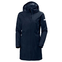 Helly Hansen Womens Aden Long Coat - Evening Blue (Navy)