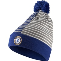 Nike Chelsea FC Striped Knit Beanie - Blue