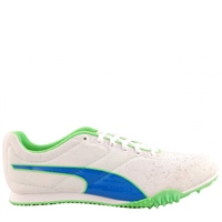 Puma Puma TFX Junior Spikes - White/Blue/Green