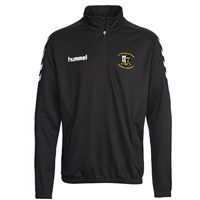 Whitehall Rangers FC Core Half Zip Sweat - Black