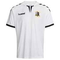 Whitehall Rangers FC Core Short Sleeve Poly Jersey - White