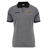 Whitehall Rangers FC Authentic Charge Polo - Dark Grey Melange