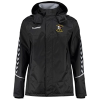 Whitehall Rangers FC Authentic Charge All Weather Jacket - Youth -Black