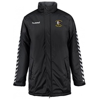 Whitehall Rangers FC Authentic Charge Stadium Jacket - Youth -Black