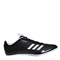 Adidas Mens Sprintstar Running Spikes - Black/White