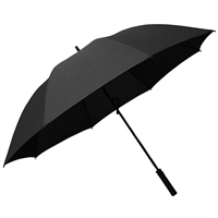Reydon Fiberglass Golf Umbrella  - 30inch - Black