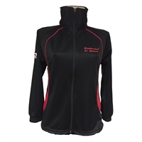 McNelis/Cunningham/Boyle  Tracksuit Top - Black/Red
