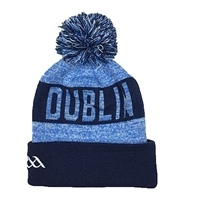 Introsports Dublin GAA Bobble Hat - Sky/Navy