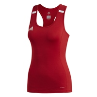Adidas TEAM19 Tank Top Womens - Power Red/White