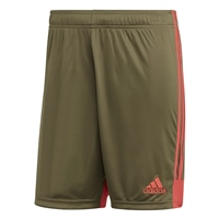 Adidas TASTIGO19 Shorts - Raw Khaki/Shock Red