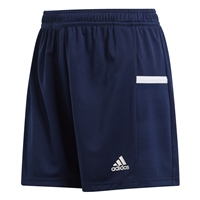 Adidas TEAM19 Knit Shorts Womens - Team Navy Blue/White