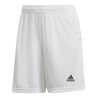Adidas TEAM19 Knit Shorts Womens - White