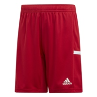 Adidas TEAM19 Knit Shorts Youth - Power Red/White